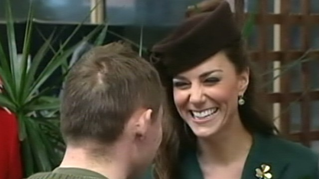 VIDEO: The Duchess of Cambridge will give her first public speech.