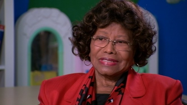 VIDEO: Katherine Jackson on how her grandchildren cope with the loss of their father.