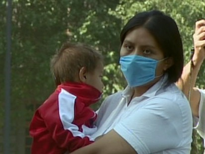VIDEO: Despite news the virus may not be very dangerous, residents urged to stay home.