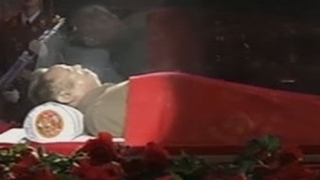 VIDEO: David Wright reports on the fallout from the sudden death of the dictator.