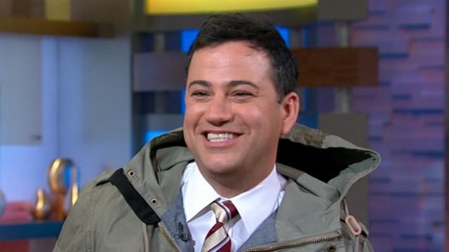 VIDEO: Jimmy Kimmel in New York for Hurricane Sandy