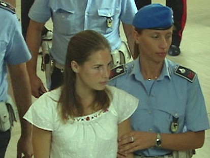 VIDEO: Amanda Knox defends herself in Italian at her trial.