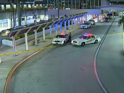 VIDEO: Airport evacuated and passenger detained after suspicious package is discovered.