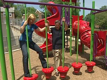 VIDEO: Elisabeth Leamy explains how to identify dangerous playground hazards.