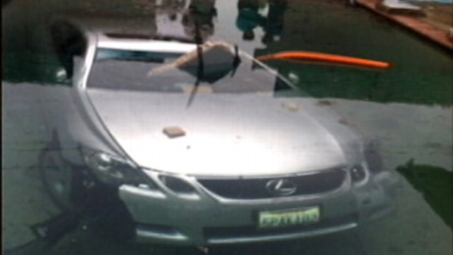 VIDEO: Drunken driver plowed car through a wall and into the familys swimming pool.