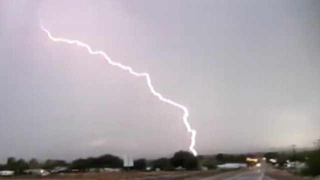 VIDEO: Lightning killed a New York family in their RV, and two in Houston.