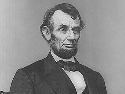 VIDEO: A picture of Abraham Lincoln.