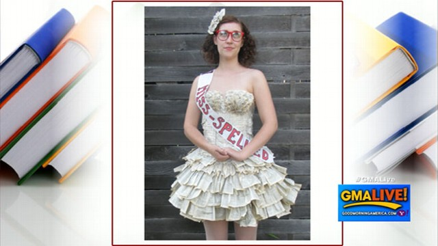 VIDEO: Dress Made From Book