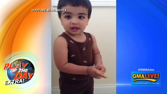 VIDEO: Toddler Is A Whiz At National Capitals