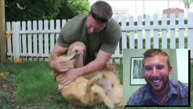 VIDEO: Soldier Reunited with Dog Befriended in Afghanistan
