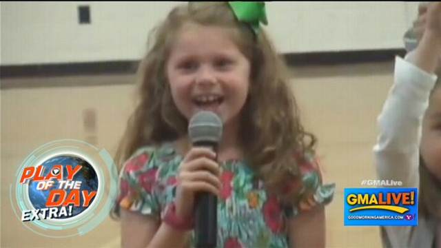 VIDEO: Military Father Surprises Daughter, 7, at School