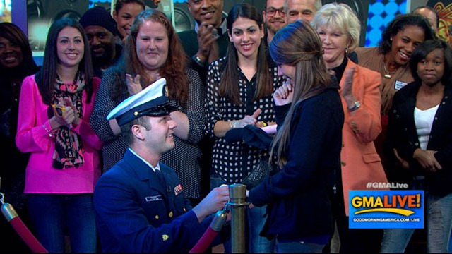 VIDEO: Veterans Fiance Still Shocked About TV Proposal
