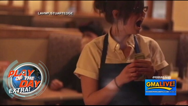 VIDEO: Generous Diner Gives $200 Tips
