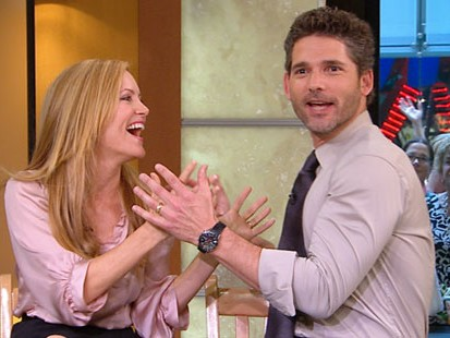 """VIDEO: Eric Bana and Leslie Mann play a husband and wife in """"Funny People."""""""