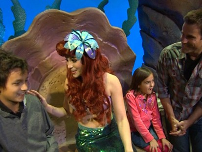 "VIDEO: New theme park allows visitors to visit scenes from ""Beauty and the Beast,"" ""Dumbo."""