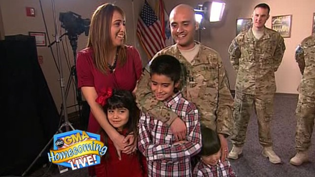 VIDEO: Surprise Reunion for Military Family