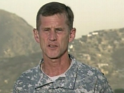 """VIDEO: The Afghan commander reminds Americans of """"the sacrifice service members make."""""""