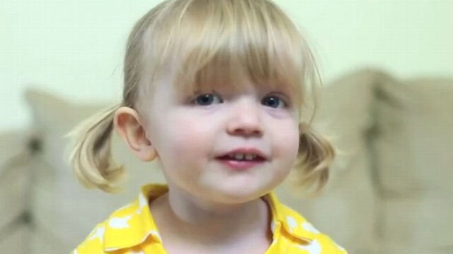 VIDEO: 2-Year-Olds Birthday Message for Mommy
