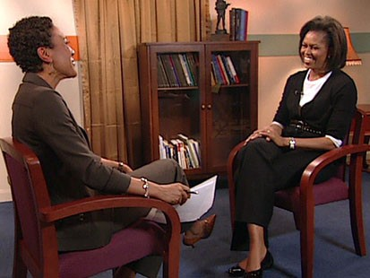 VIDEO: The first lady talks about family life in the White House.