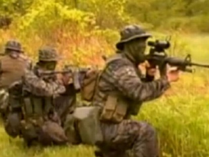 VIDEO: An FBI agent risked his life to infiltrate a radical Christian militia group.