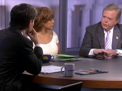 VIDEO: Gayle King, Lou Dobbs and George Stephanopoulos discuss news headlines.
