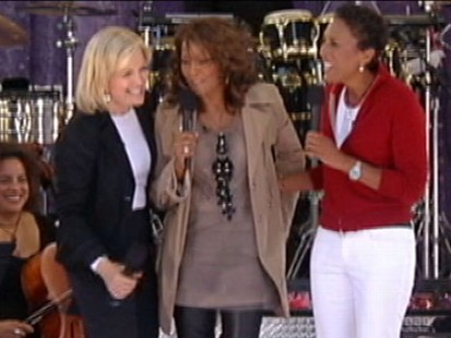 "VIDEO: The ""GMA"" anchors retell their favorite Whitney Houston moments."