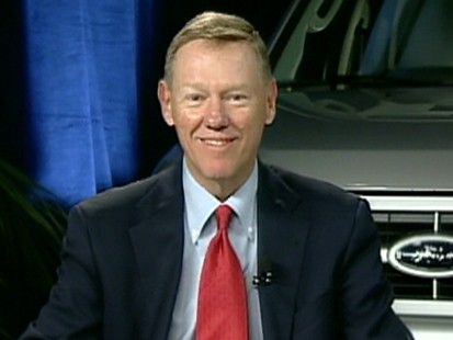 A picture of Ford Motor Company president and CEO Alan Mulally.