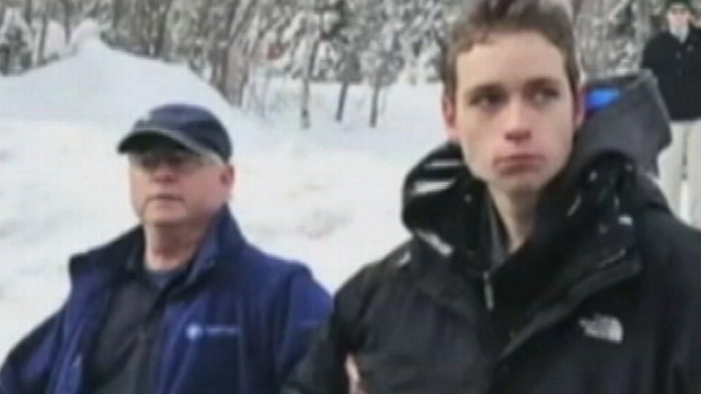 VIDEO: High school senior survived two freezing nights alone by building snow shelter.