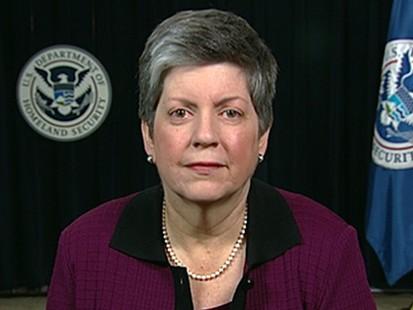 VIDEO: Homeland Security Secretary Janet Napolitano addresses Gulf oil spill response.