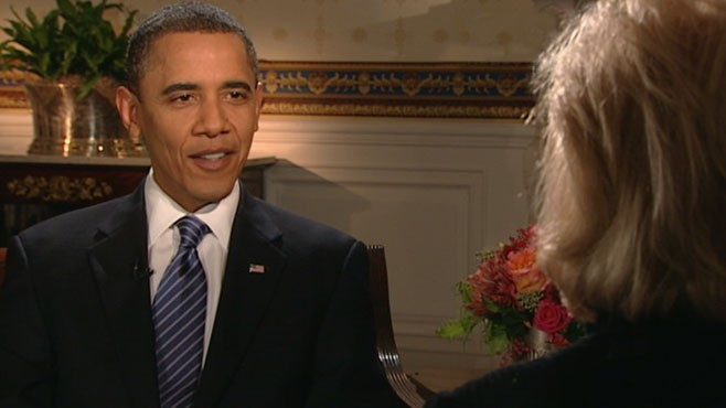 VIDEO: The president weighs in on Sarah Palins 2012 run for the White House.