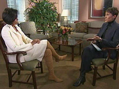 VIDEO: The first lady discusses changes her family made to promote healthy eating.