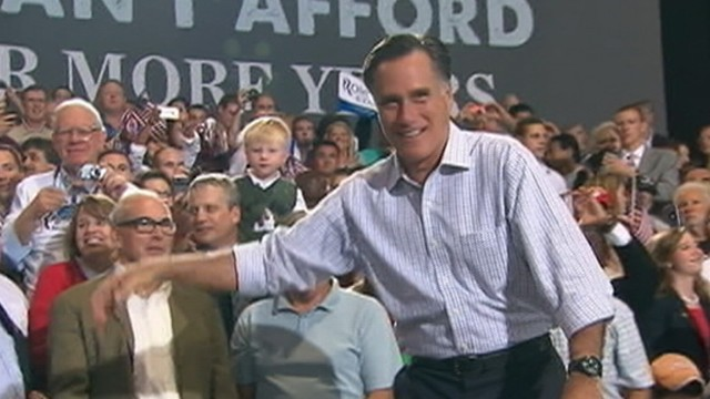 VIDEO: The Republican presidential candidate and the president campaign in Ohio.