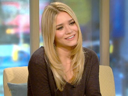 A picture of Ashley Olsen on GMA.