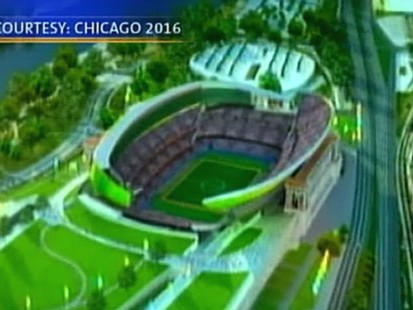 VIDEO: President Obama lobbies to make Chicago the site of the 2016 Olympic Games.
