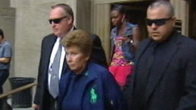 VIDEO: Lois Goodman is accused of trying to cover up the killing of her 80-year-old husband.