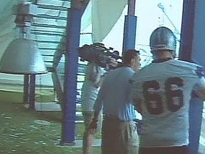 VIDEO: Cowboys Stadium Collapses