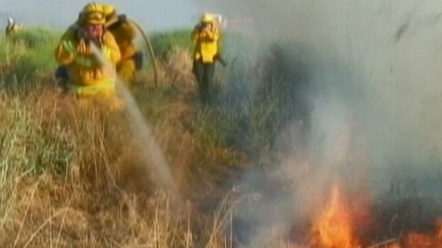VIDEO: Ryan Owens on the raging fires that have caused thousands to leave their homes.