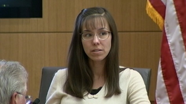 VIDEO: The woman who is accused of killing her ex-boyfriend continues her testimony.