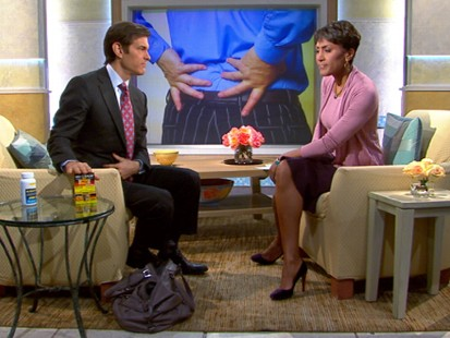 VIDEO: Dr. Mehmet Oz explains how to avoid back pain from daily activities.