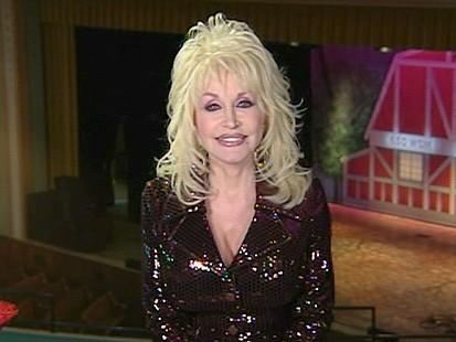 VIDEO: Dolly Partons Wardrobe Malfunction
