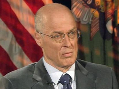 Sec. Hank Paulson