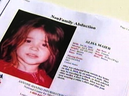 VIDEO: 4-year-old Alisa Maier is found after she was kidnapped from her front yard.