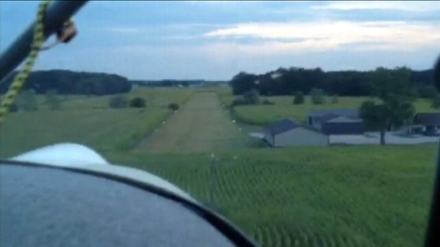 VIDEO: Cockpit video captured the moment the aircraft nose dived into a cornfield.