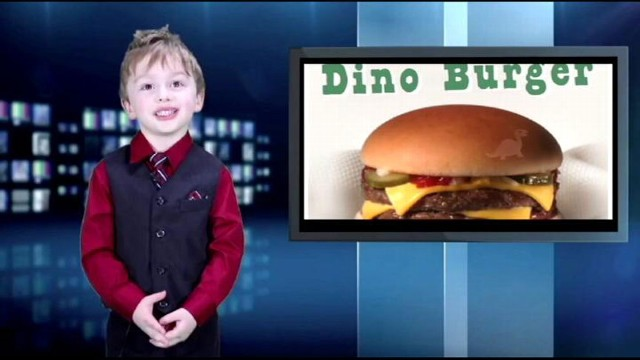 VIDEO: Boy, 4, Delivers Adorable Newscast