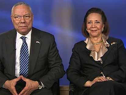 VIDEO: Gen. Colin Powell and his wife discuss their new initiative, Grad Nation.