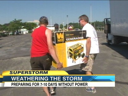 VIDEO: States are predicting massive power outages as wind speeds pick up.