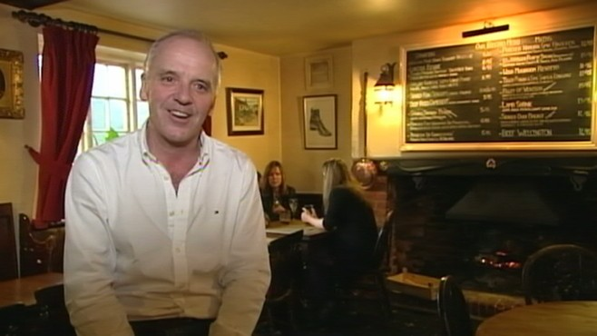 VIDEO: Nick Watt speaks to the man who pours pints at Kate Middletons favorite pub.