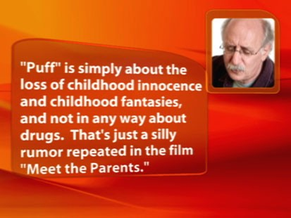 "VIDEO: Peter Yarrow says ""Puff the Magic Dragon"" is not about marijuana use."