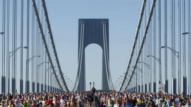 VIDEO: Mayor Michael Bloomberg vows the ING marathon will go despite the devastation from the storm.