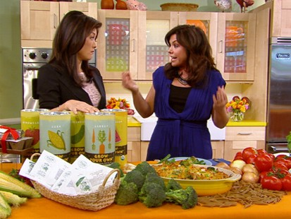 VIDEO: Chef Rachel Ray reminds parents of healthy lunch alternatives for kids.